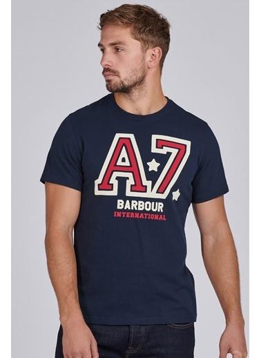 Barbour B.Int. Legendary A7 T-Shirt Ny91 Navy Lacivert